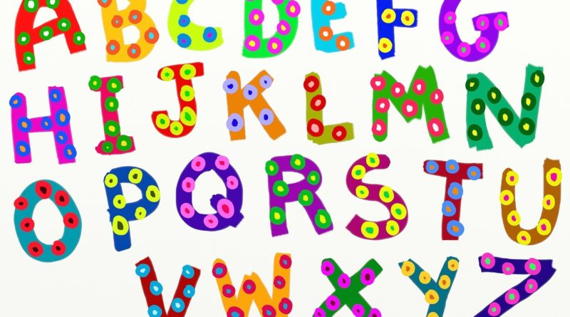 alphabet, text, type
