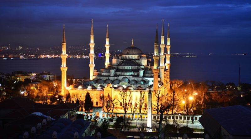 blue mosque, istanbul, turkish
