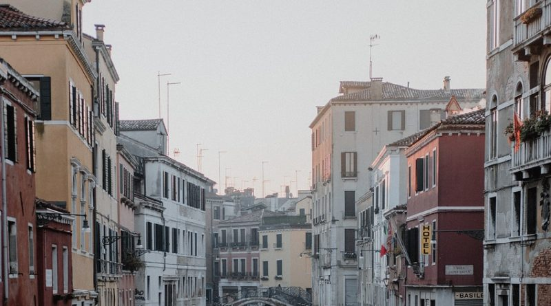 gondola, canal, venice