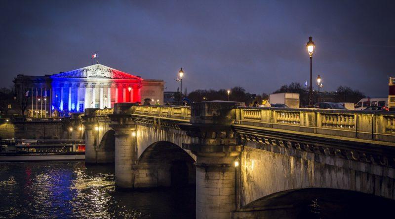 paris, france, flag