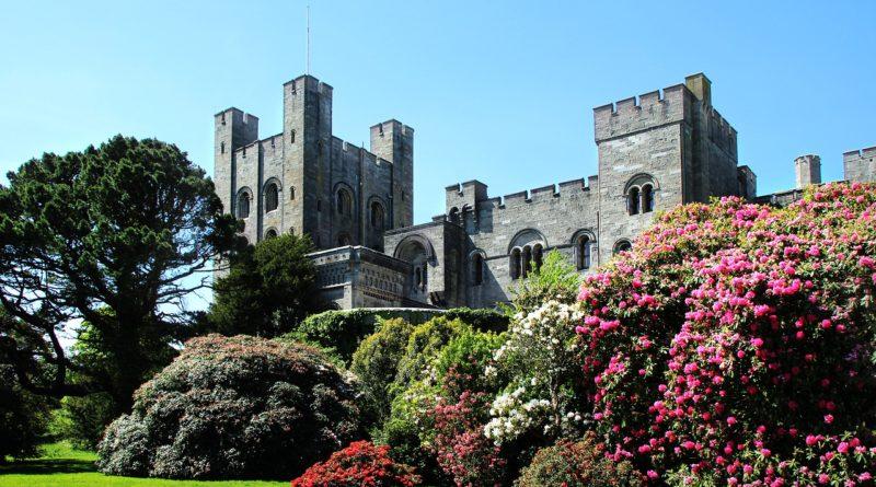 penrhyn castle, wales, castle