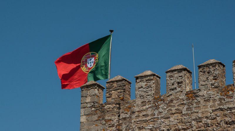 portugal, flag, ramparts