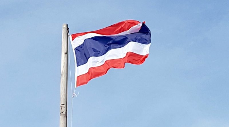 thailand, flag, asia