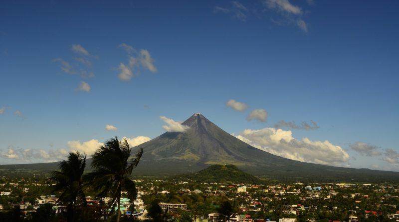 volcano, mayon, philippines
