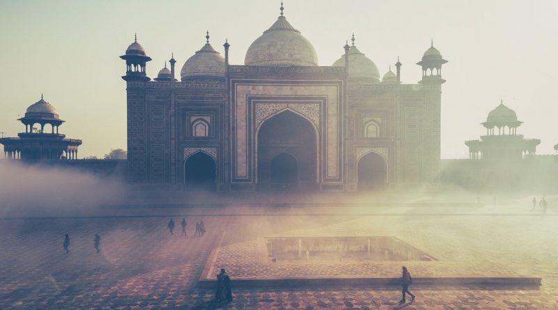 taj mahal, india, building